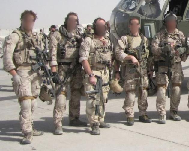 DEVGRU în Afganistan