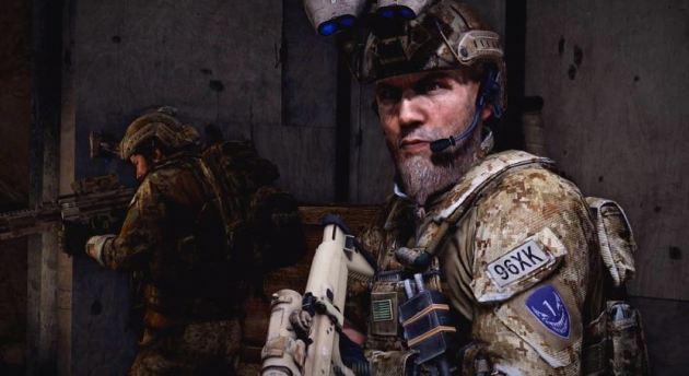 Personaj din jocul video Medal of Honor, construit după un fost operator DEVGRU